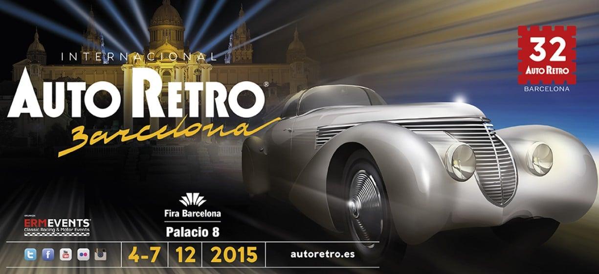 32º Edición del Salón Internacional del Vehículo Clásico de Barcelona, AutoRetro 2015. Patrocinador Oficial, Zalba Caldú