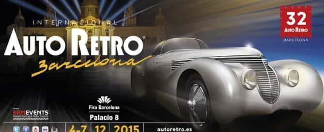 Salón_Internacional_del_Vehículo_Clásico_de_Barcelona, AutoRetro 2015. Patrocinador Oficial, Zalba Caldú