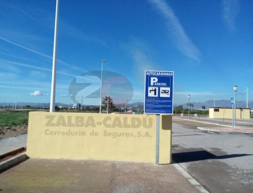 El área de autocaravanas de Moncofa ya es una realidad