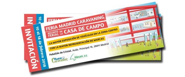 Feria Madrid Caravaning Casa de Campo Palacio de Cristal