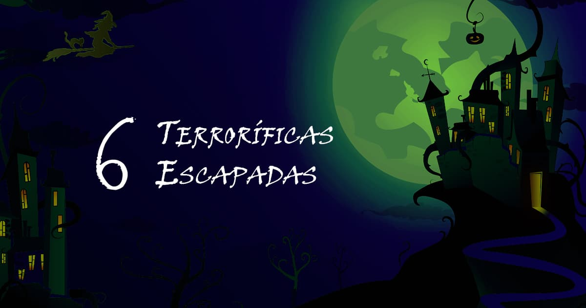 6 terroríficas escapadas para este Halloween