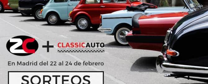 Blog Sorteo Entradas ClassicAuto 2019 Madrid Zalba-Caldú Correduría de Seguros