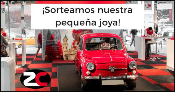 Sorteo Seat 600 Evento ClassicAuto 2019 Zalba-Caldú Correduría de Seguros