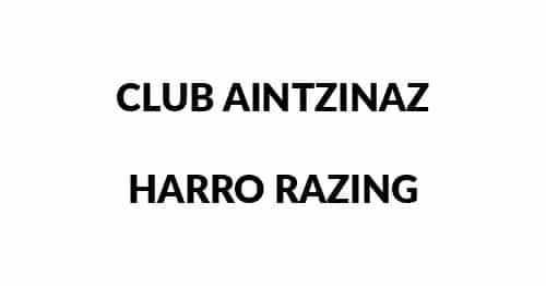 Logo Club Aintzinaz Harro Razing