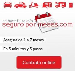 Asegura tu vehículo temporalmente, totalmente online y en 5 minutos