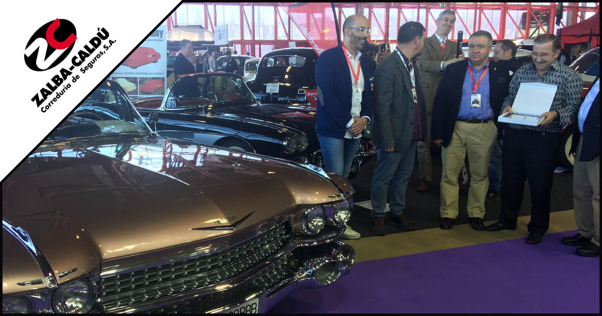 Cadillac ClassicMadrid 2020 Blog Zalba Caldu Correduria Seguros Zaragoza