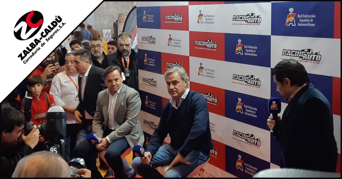 Carlos Sainz ClassicMadrid 2020 Blog Zalba Caldu Correduria Seguros Zaragoza