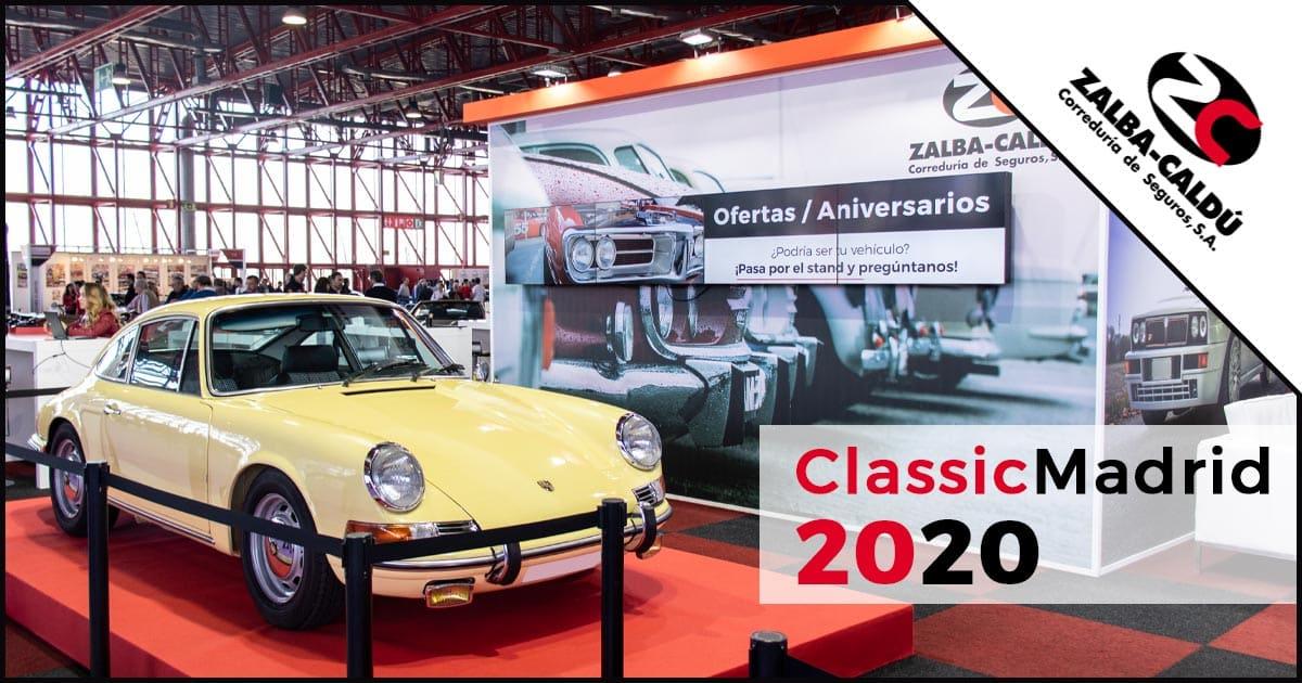 ClassicMadrid 2020 Blog Zalba Caldu Correduria Seguros Zaragoza