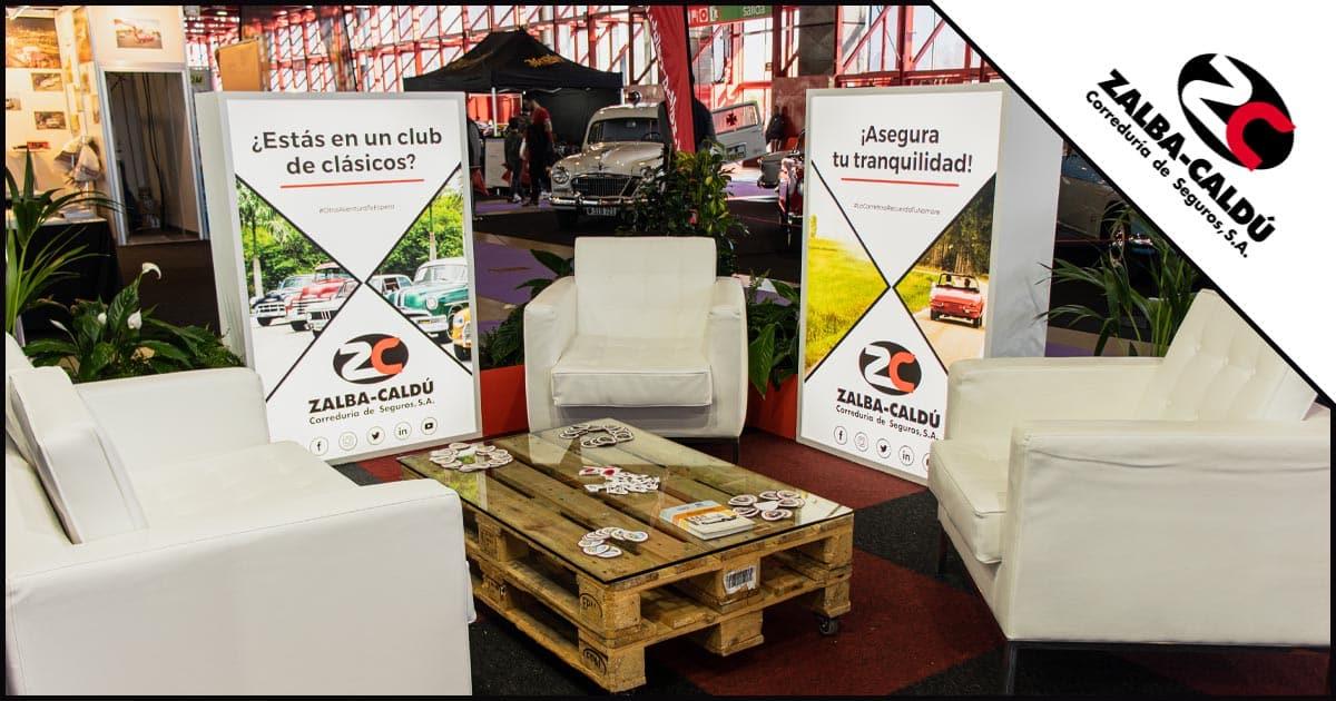 Stand Chill ClassicMadrid 2020 Blog Zalba Caldu Correduria Seguros Zaragoza