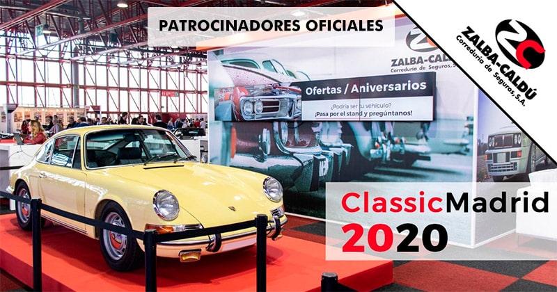 Zalba-Caldú Patrocinador Oficial Classic Madrid 2020