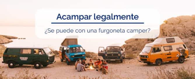 ACAMPAR LEGALMENTE FURGONETA CAMPER BLOG ZALBA CALDU CORREDURIA SEGUROS ZARAGOZA
